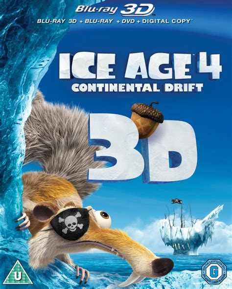 ice age  continental drift  includes  blu ray dvd