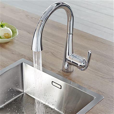robinet grohe cuisine avec douchette robinet de cuisine douchette grohe zedra espace aubade