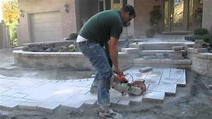 Scie A Beton : coupe de pav uni avec scie b ton t 2012 pav uni k jl ~ Melissatoandfro.com Idées de Décoration