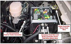 Installing Aftermarket Brake Controller On 2012 Gmc Sierra
