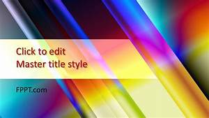 Template Power Point Free Colorful Powerpoint Background Free Powerpoint