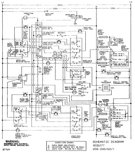 i need a wiring diagram for a kitchenaid dual oven model