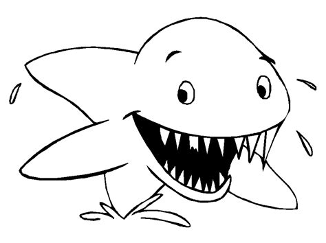 fish coloring pages for preschool and kindergarten 603 | fish color page