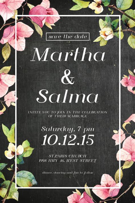 bingkai bunga undangan pernikahan png kata kata mutiara