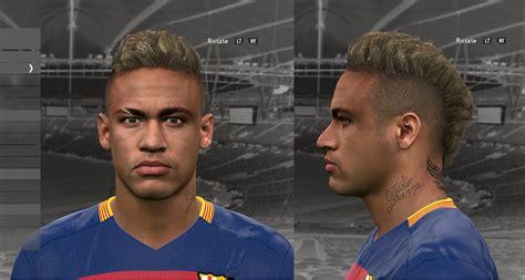 pes   face neymar jr pes evolution hd
