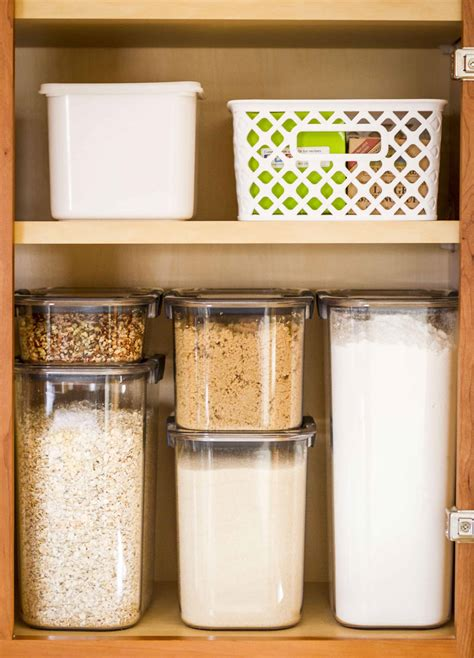 storage containers for kitchen pantry small pantry organization tips and tricks unsophisticook 8367
