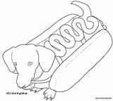 Dachshund Coloring Pages Printable Dog Weiner Printables Sheets Template Getdrawings Getcolorings Adult Stencil Face Templates Colorings sketch template