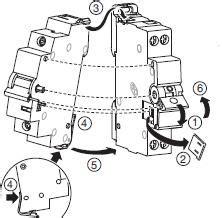 mounting wiring diagram hager
