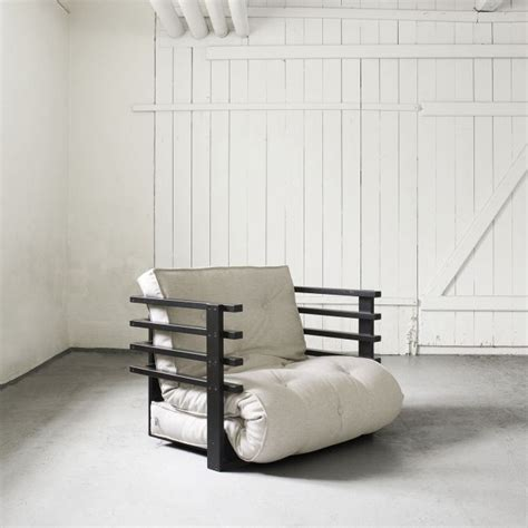 fauteuil futon funky transformable en matelas d appoint mykaz