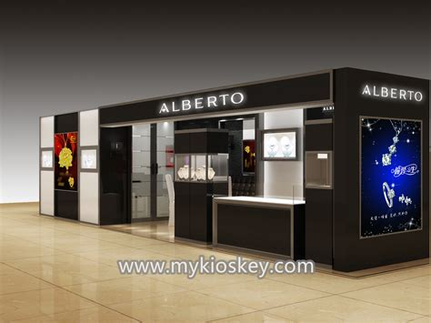 commercial furniture kiosk design  jewelry display