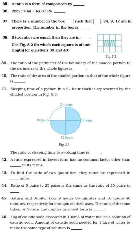 maths worksheets year  ratios
