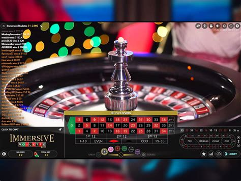 Live Immersive Roulette  Live Games Spinandwincom