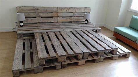 pallet platform bed  wonderful pallet