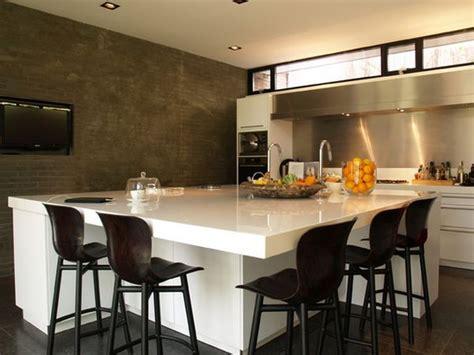 high kitchen island 60 страхотни идеи за столове за вашия домашен бар 1641