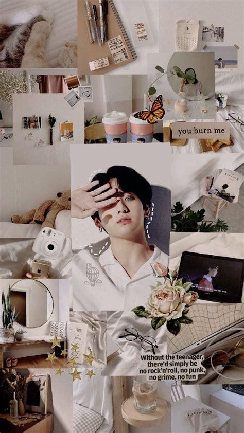 jungkook aesthetic wallpaper credits to