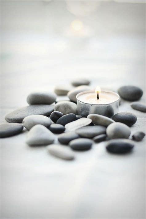 Zen Candles and Stones