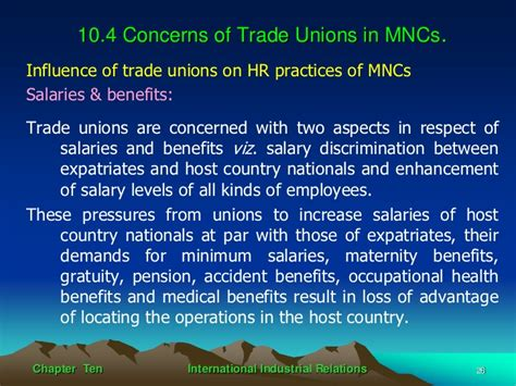 international industrial relations