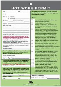 for hot work permit required pictures to pin on pinterest With hot works permit template