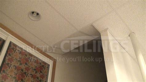 build  stairwell slope drop ceilings