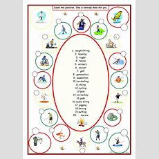 Sports (label The Pictures) Worksheet  Free Esl Printable Worksheets Made By Teachers