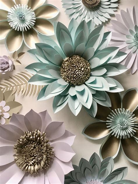 giant paper flower backdrop  wall decoration