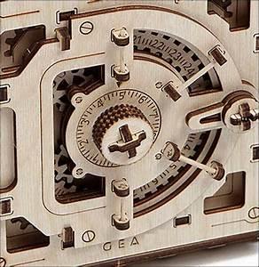 Tresor Selber Bauen : bild der wissenschaft shop 3d holzbausatz tresor made in eu erlesenes wissen ~ Watch28wear.com Haus und Dekorationen