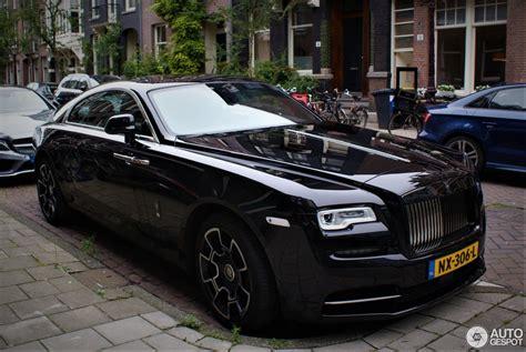 Rolls Royce Wraith Black Badge 30 2017 Autogespot