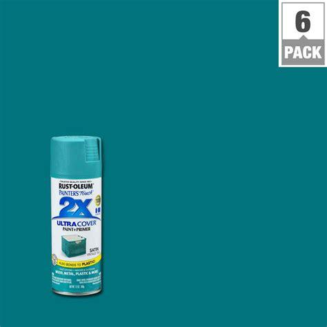 spray paint teal color rust oleum painter s touch 2x 12 oz satin vintage teal