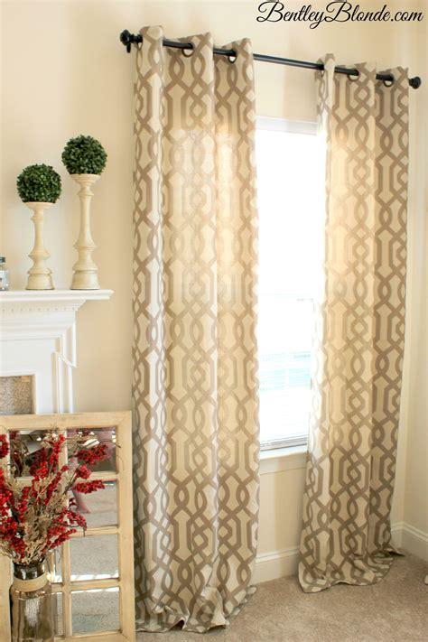 home decor curtains kirklands gatehill curtains taupe 95 inch bentleyblonde