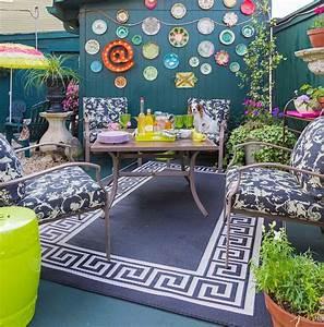 des idees de deco jardin qui apportent de la couleur a nos With mobilier de piscine design 5 deco mur exterieur homeandgarden