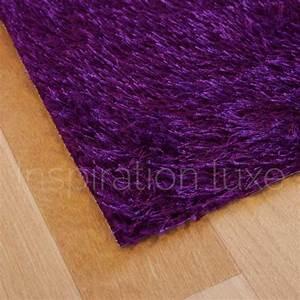 Tapis De Cuisine Design : tapis violet de cuisine sur mesure lavable en machine ~ Teatrodelosmanantiales.com Idées de Décoration