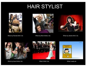 Funny Hairdresser Memes - funny hair stylist meme hairdresser humor pinterest