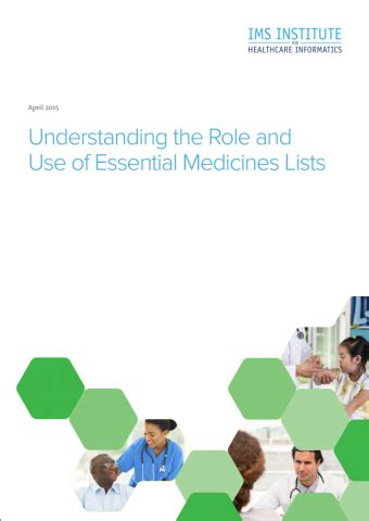 Understanding The Role And Use Of Essential Medicines Lists Ifpma