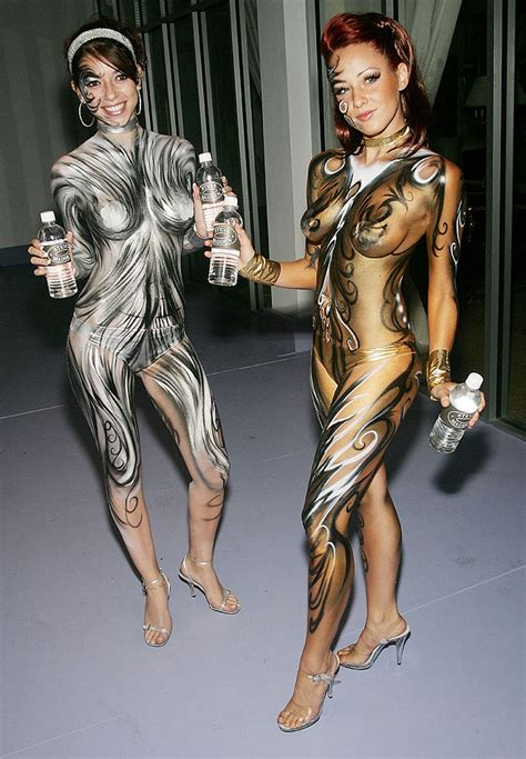 Alternative Fitspiration Thinspiration Body Paint