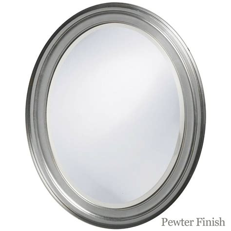 Framed Oval Bathroom Mirror by Oval Framed Bathroom Mirror For Vanity Wall