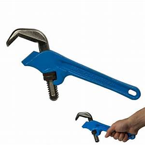 Plumber U0026 39 S Offset Hex Wrench 1 8 U0026quot  To 2 8 U0026quot  Pipe Capacity