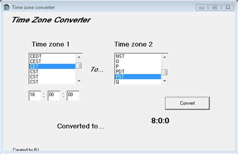 time zone converter converts time zones ghacks tech news