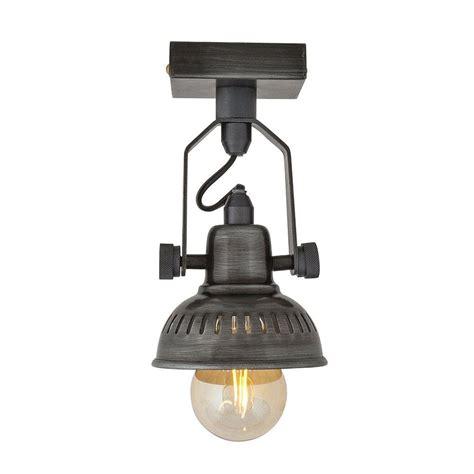 single bulb flush mount light small single vintage style adjustable swivel spotlight