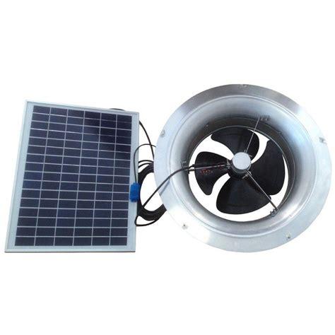 solar powered home fans remington solar 20 watt 1 280 cfm gable mount solar