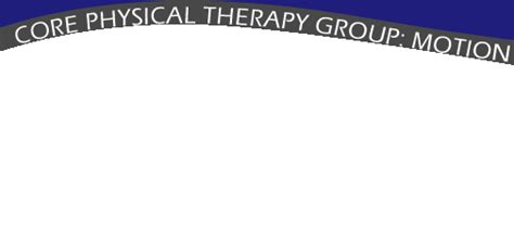 Core Physical Therapy In Seattle