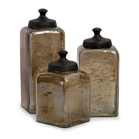 glass kitchen canisters sets canister sets house home