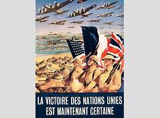 French Propaganda Poster Published In Algeria From World