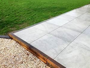 Dalle Pour Terrasse Sur Plot : dalles sur plots couleur jardin ~ Premium-room.com Idées de Décoration