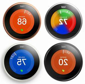 Nest Learning Smart Thermostat 3rd Generation Google Home