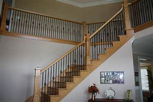 Ornate Staircase Hermiller Construction