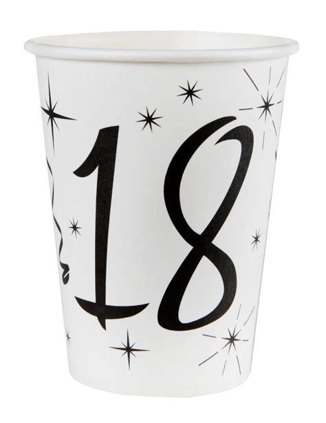Bicchieri Bianchi by 10 Bicchieri Bianchi 18 Anni Su Vegaooparty Negozio Di