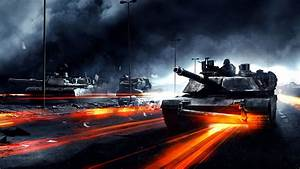 Full HD Wallpaper battlefield 3 m1 abrams tank smoke art