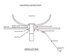 is a mounting ring necessary for vessel sink glass vessel sinks glass vessel and vessel sink on pinterest
