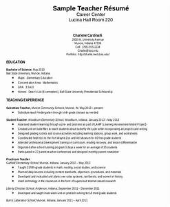 teacher resume sample 32 free word pdf documents With free sample resume for teachers