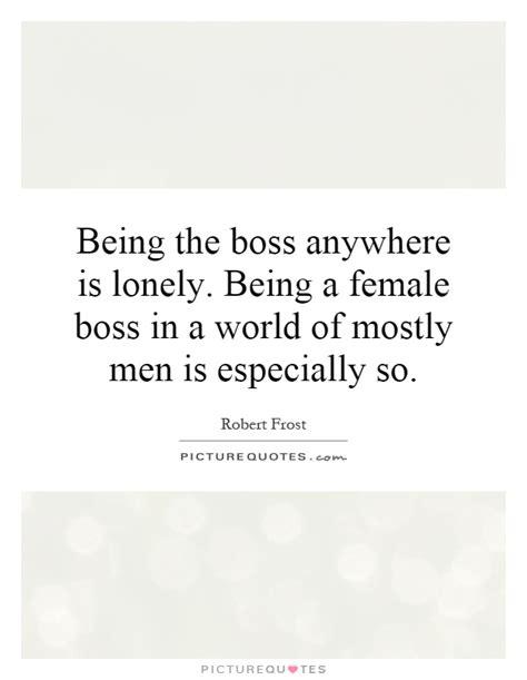 boss   lonely   female boss